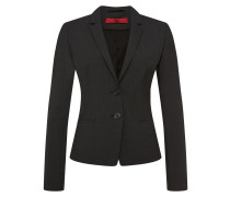 Regular-Fit Blazer aus Stretch-Schurwolle