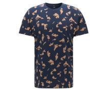 Regular-Fit T-Shirt aus Baumwolle mit Print