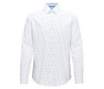 Regular-Fit T-Shirt aus Baumwolle mit Argyle-Print