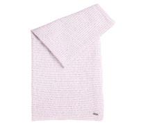 Schal aus leichter Baumwolle mit Sprüche-Print