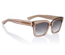 Sonnenbrille mit feiner Netzstruktur