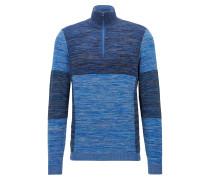 Regular-Fit Pullover aus elastischem Baumwoll-Mix