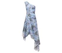 One-Shoulder-Kleid mit asymmetrischem Saum