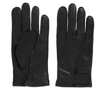 Handschuhe aus Nappaleder mit verstellbaren Bündchen