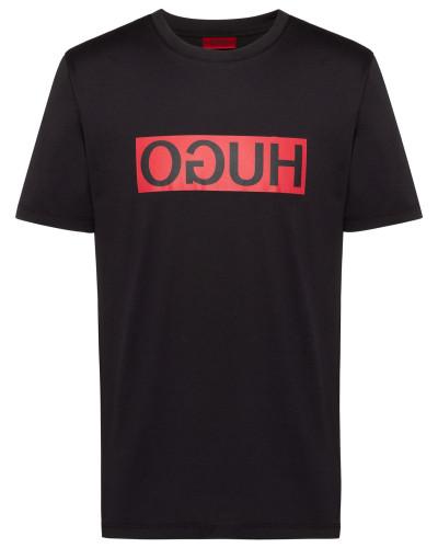 T-Shirt mit aufgedrucktem Reversed-Logo