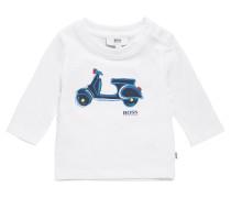 Kids-Longsleeve aus Baumwolle mit Print