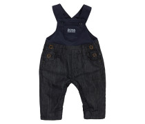 Baby-Latzhose aus Baumwolle in Denim-Optik