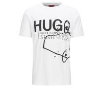 Regular Fit Fashion Show T-Shirt aus Baumwolle