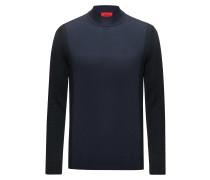 Pullover aus Schurwoll-Mix im Colour Blocking Design