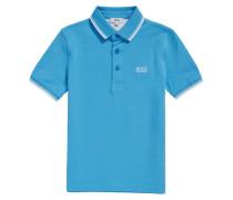 Regular-Fit Kids-Poloshirt aus Baumwoll-Piqué