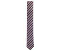 Krawatte aus Seiden-Jacquard