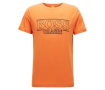 Regular-Fit T-Shirt aus reiner Baumwolle