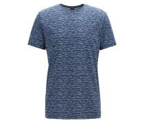 Regular-Fit T-Shirt aus bedruckter Baumwolle
