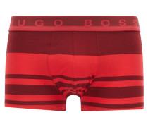 Gestreifte Boxershorts aus elastischem Baumwoll-Jersey