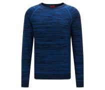 Oversize-Pullover aus Baumwolle