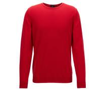 Crew-neck sweater in fine Italian cotton