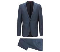 Extra Slim-Fit Anzug aus Schurwoll-Twill