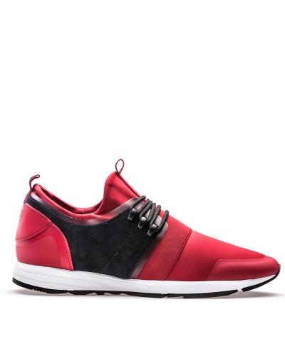 Günstig Kaufen Neuesten Kollektionen Offizieller Günstiger Preis HUGO BOSS Herren Sneakers aus Material-Mix mit Neopren-Einlage dPvX19va