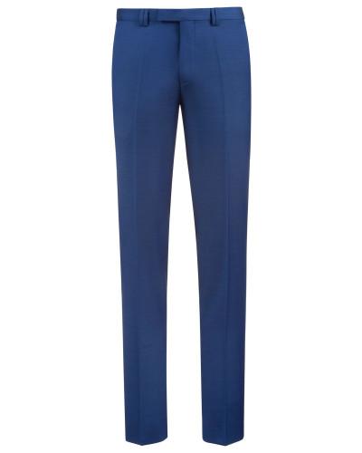 Extra Slim-Fit Hose aus fein strukturierter Schurwolle