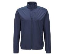 Regular-Fit Jacke aus wasserabweisender Popeline