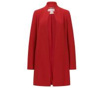Regular-Fit Mantel aus italienischer Schurwolle