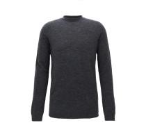 Nahtloser Oversize Pullover aus einem elastischen Woll-Mix mit Alpakawolle