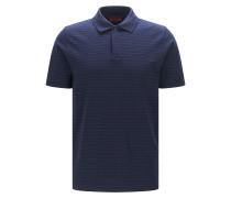 Regular-Fit Poloshirt aus Baumwolle mit Nadelstreifen
