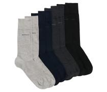 Vierer-Pack Socken aus elastischem Baumwoll-Mix im Geschenk-Set