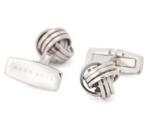 Manschettenknöpfe aus poliertem Metall