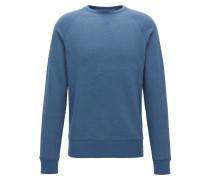 Meliertes Sweatshirt aus softem Baumwoll-Mix
