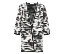 Regular-Fit Mantel mit Zebra-Print