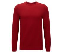Relaxed-Fit Pullover aus Baumwolle mit diagonaler Rippenstruktur