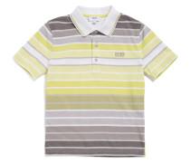 Kids-Poloshirt aus Baumwolle im gestreiften Dessin