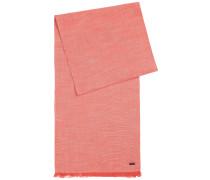 Locker gewebter, unifarbener Schal aus Baumwolle