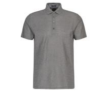 Regular-Fit Tailored Poloshirt aus Baumwolle mit grafischem Struktur-Muster