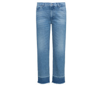 Slim-Fit Jeans aus Stone-washed-Denim