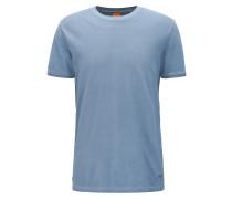 Stückgefärbtes T-Shirt aus Baumwoll-Piqué