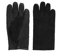 Handschuhe aus Lammleder mit offenen Kanten