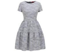 Regular-Fit Jacquard-Kleid mit abstraktem Muster
