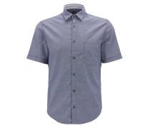 Regular-Fit Oxford-Hemd aus Stretch-Baumwolle