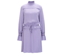 Kleid aus Modal mit Rüschen-Details