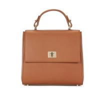 Kleinformatige BOSS Bespoke Handtasche aus glattem Leder