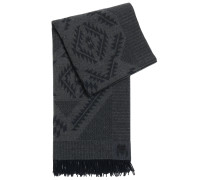 Schal aus Wolle mit Azteken-Muster
