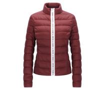 Regular-Fit-Jacke aus wasserabweisendem Material-Mix