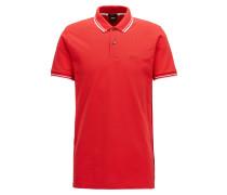 Regular-Fit Poloshirt aus feinem Baumwoll-Piqué