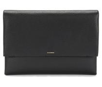 BOSS Luxury Staple Clutch aus italienischem Leder
