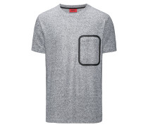 Oversize T-Shirt aus meliertem French Terry