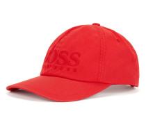 Baseball Cap aus Baumwoll-Twill mit Logo-Stickerei