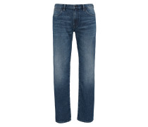 Regular-Fit Jeans aus mittelschwerem Baumwoll-Mix