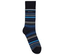 Mittelhohe Socken aus merzerisiertem Baumwoll-Mix mit Elasthan